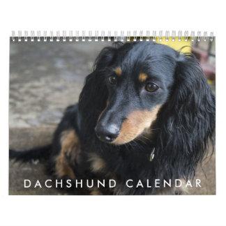 Dachshund Calendar 2016