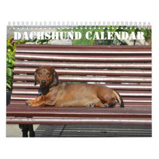 Dachshund Calendar 2016 Personalized