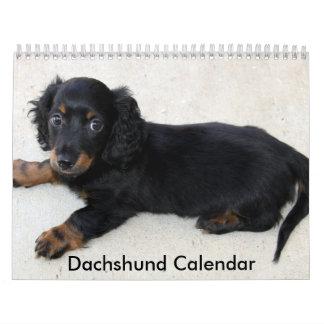 Dachshund Calendar 2016 Personalized Photos