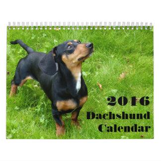 Dachshund Calendar 2016 With Your Photos