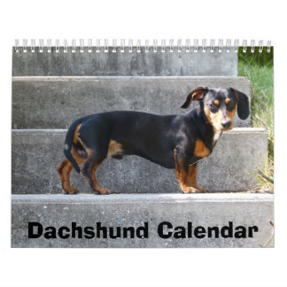 Dachshund Calendar 2018 Add Your Photos
