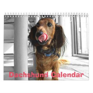 Dachshund Calendar 2018 Your Custom Photos