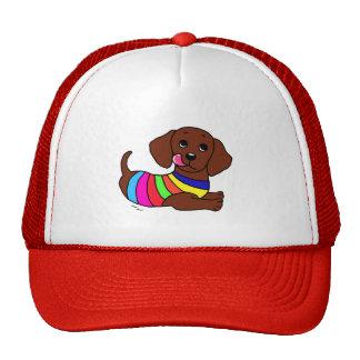 Dachshund Cartoon 1 Trucker Hat
