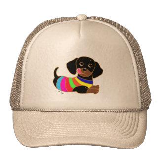 Dachshund Cartoon 2 Trucker Hat