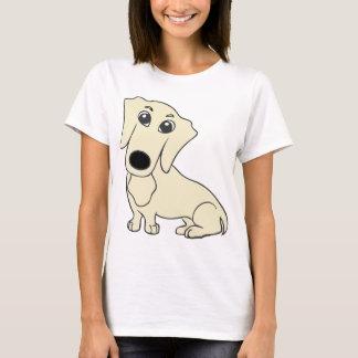 dachshund cartoon cream T-Shirt