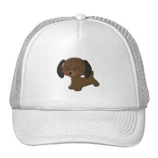 Dachshund Cartoon Trucker Hat