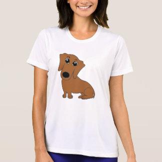 dachshund cartoon red T-Shirt
