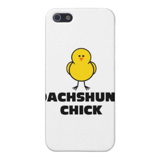 Dachshund Chick iPhone 5 Covers