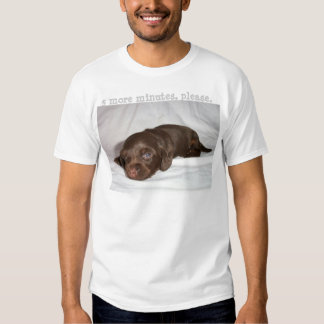 Dachshund Chocolate Longcoat Pup T Shirt
