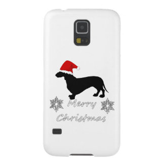 Dachshund christmas galaxy s5 case