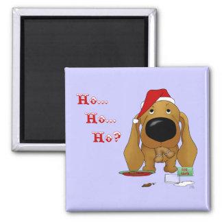 Dachshund Christmas Fridge Magnet
