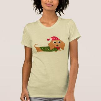 Dachshund Christmas Tshirt