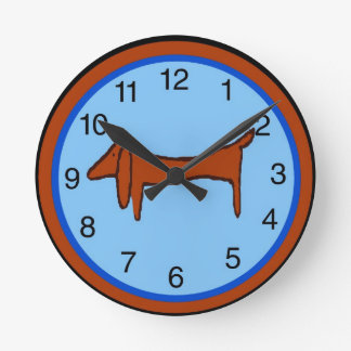 Dachshund Clock