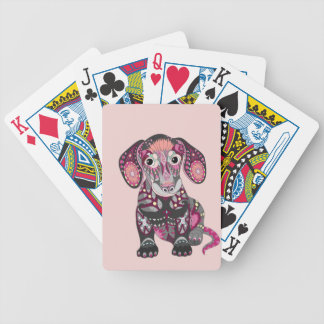 Dachshund Colors Bicycle Playing Cards