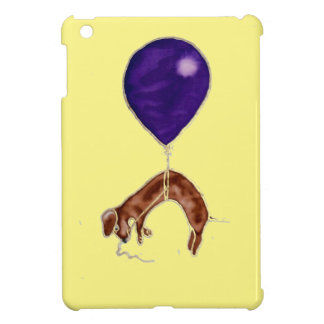 dachshund con el globo