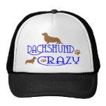 DACHSHUND CRAZY HATS