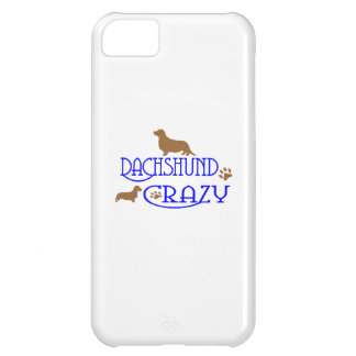 DACHSHUND CRAZY iPhone 5C CASE