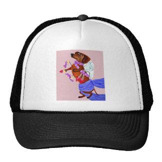Dachshund Cupid Trucker Hat