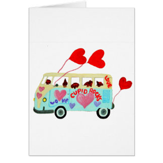 Dachshund Cupids In Their Valentine Love Mobile Cards