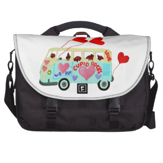 Dachshund Cupids In Their Valentine Love Mobile Laptop Bags