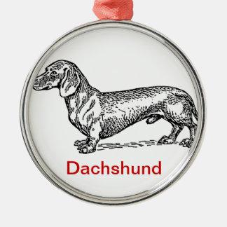 Dachshund Dachsie Christmas Ornament