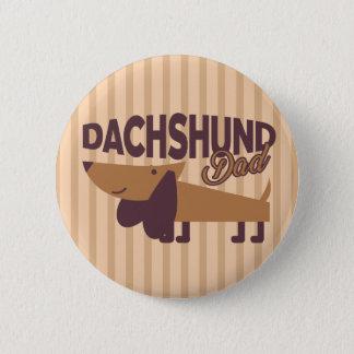 Dachshund Dad, 2¼ Inch Round Button