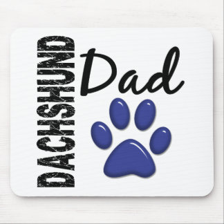 Dachshund Dad 2 Mouse Pad