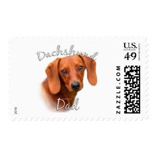 Dachshund Dad 2 Stamp