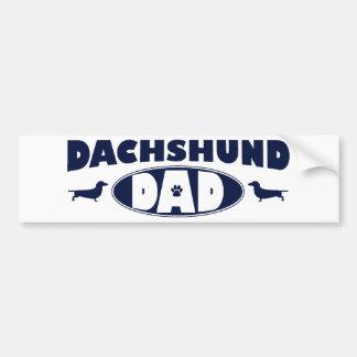 Dachshund Dad Bumper Stickers