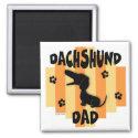 Dachshund Dad Magnet magnet