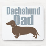 """""""Dachshund Dad"""" Mouse Pad"""
