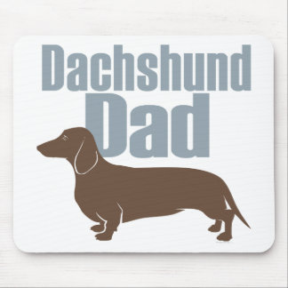 """Dachshund Dad"" Mouse Pad"