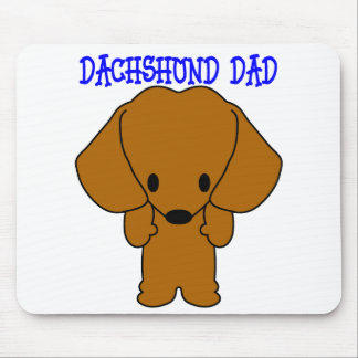 Dachshund Dad Mouse Pad