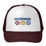 DACHSHUND Dad Paw Print 1 Mesh Hat