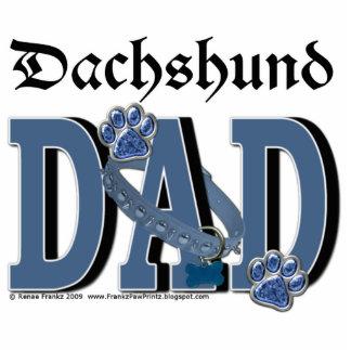 Dachshund DAD Photo Cutout