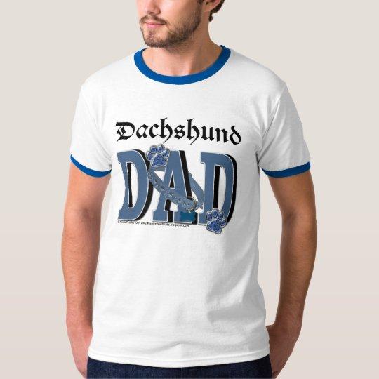 Dachshund Dad - Pia Red Bink Rommel Photo-9 T-Shirt