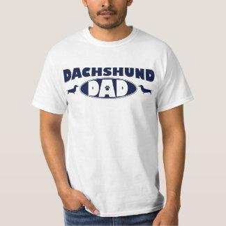 Dachshund Dad Tee Shirt