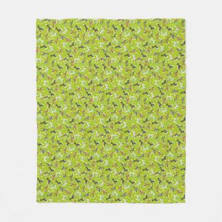 Dachshund de Pascua (verde) Manta De Forro Polar