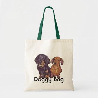 Dachshund de pelo largo y liso del bolso de perrit bolsas