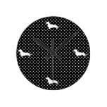 Dachshund del lunar de Black&White Relojes