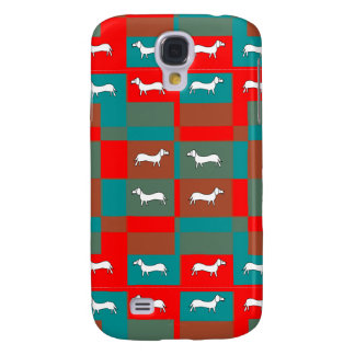 Dachshund Design on Samsung Galaxy S4 Cover