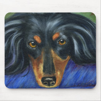 Dachshund Dog Breed Art - Hallie Mouse Pad