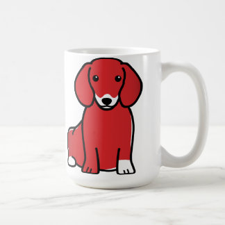 Dachshund Dog Breed Cartoon Mug