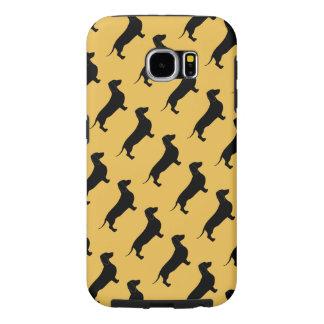 Dachshund Dog Breed Theme Samsung Galaxy S6 Case
