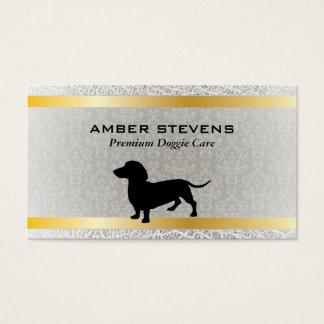 Dachshund   Dog Care (premium) Business Card