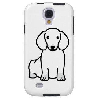 Dachshund Dog Cartoon Galaxy S4 Case