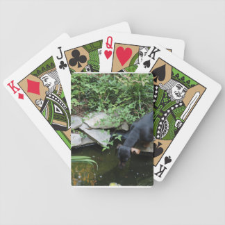 Dachshund Dog Custume Playing Cards