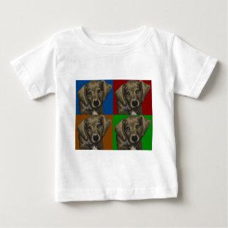 Dachshund Dog Dark Collage Baby T-Shirt