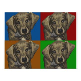 Dachshund Dog Dark Collage Card