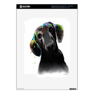 Dachshund Dog Decal For iPad 3